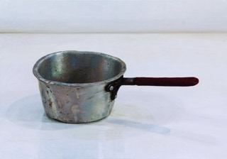 Tommy Tucker's pot by Blaise Smith RHA, Still life oil painting